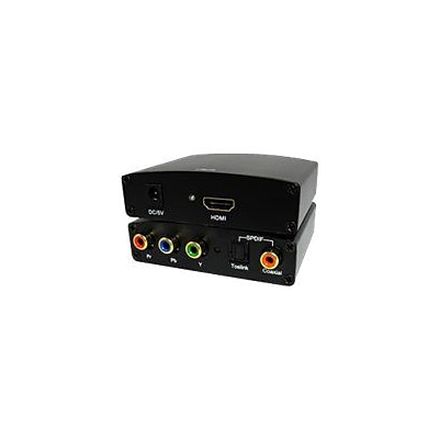COMPREHENSIVE CABLE® CCN-CH101 RGB YPBPR To HDMI Signal Converter With SPDIF Optical Toslink