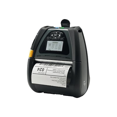 Zebra® Monochrome 230 dpi Direct Thermal Label/Receipt Printer, Black (QN4-AUNB0M00-00)