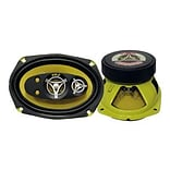 Pyle® Gear Yellow 450 W Five-Way Speakers