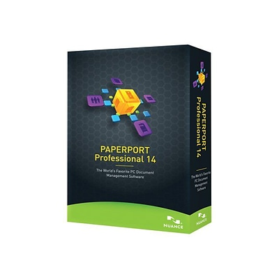 Nuance® PaperPort v.14.0 Professional Software; 1-User, Windows, DVD-ROM
