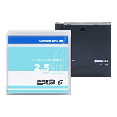 Tandberg LTO Ultrium 6 2.5TB/6.25TB Cartridge