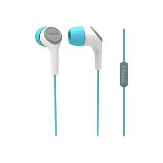 Koss® KEB15iT Noise-Isolating In-Ear Headphone; Teal