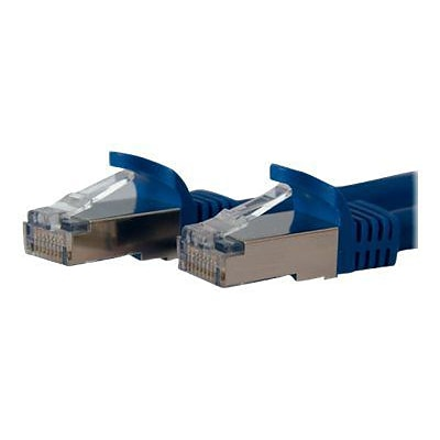 StarTech® 7 Cat 6a Shielded Snagless RJ-45 Male/Male Patch Cable; Blue