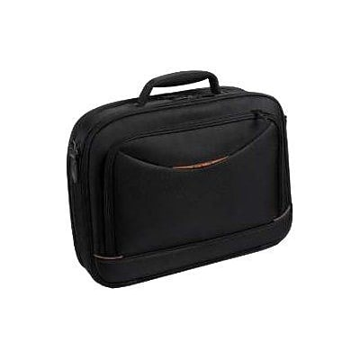 Urban Factory City Classic Black Nylon Briefcase For 15.6 Notebook