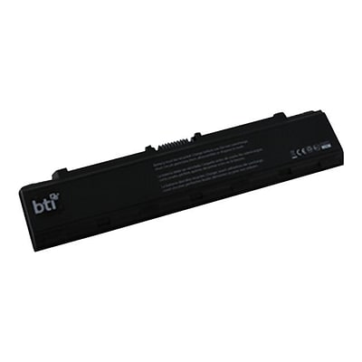 BTI® 5600 mAh 6 Cell Lithium-Ion Notebook Battery; Black