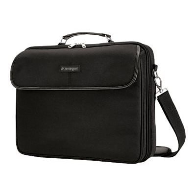 Kensington® Black Nylon Portable Carrying Case For 15.4 Laptop/Notebook