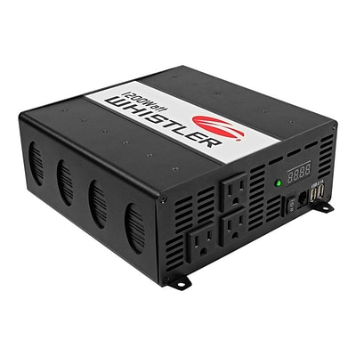 Whistler® 3 Outlets Power Inverter; 1200 W