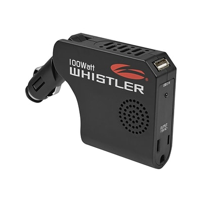 Whistler® 1 Outlets Power Inverter; 100 W