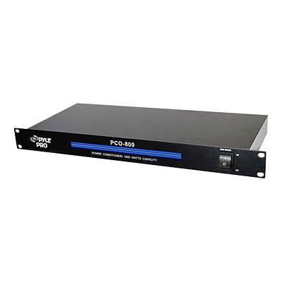PYLE - PRO SOUND PCO800 19 Rack Mount 1800 W Power Conditioner With 8 Outlets