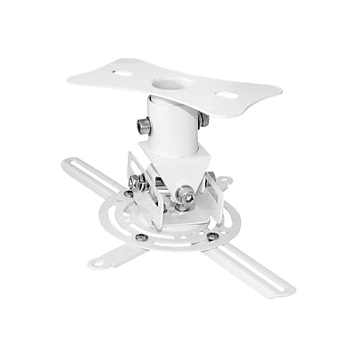 Pyle® Universal Projector Ceiling Mount Bracket For Up To 30 lbs. Projector; White