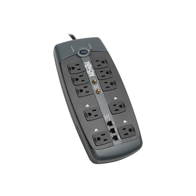 Tripp Lite Protect It 10 Outlet Surge Protector With 8 Cord
