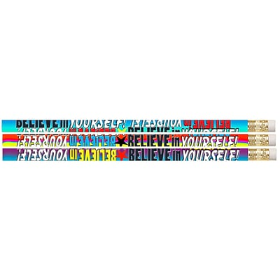Musgrave Pencil Company Pencil, Believe In Yourself, 144/Box
