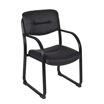 Regency 1006BK Side Chair with Arms Black