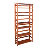 Flip Flop 67 High Folding Bookcase, Cherry