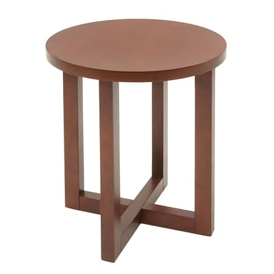 Regency Wood End Table, Cherry