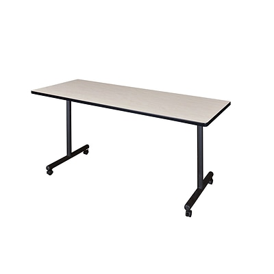 Regency Kobe 60 x 24 Mobile Training Table, Maple (MKTRCC6024PL)