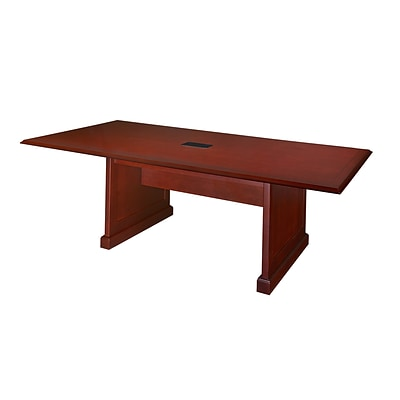 Regency 96-inch Wood Modular Conference Table Mahogany