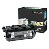 Lexmark™ 64075HA Extra High-Yield Toner, 32000 Page-Yield, Black