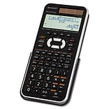 Sharp® EL-W516XBSL Scientific Calculator, LCD, 16-Digit