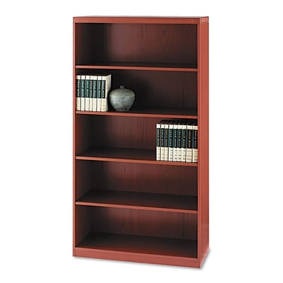 Mayline® Aberdeen Collection in Cherry, Bookcase
