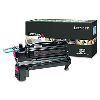 Lexmark™ C792X1MG Extra High-Yield Toner; 20,000 Page-Yield, Magenta
