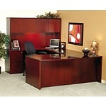 Mayline Luminary Cherry Credenza Shell
