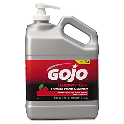 GOJO® Cherry Gel Pumice Hand Cleaner, Cherry, 1 gal, Each (2358-02)
