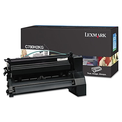 Lexmark™ C780H2KG High-Yield Toner, 10,000 Page-Yield, Black