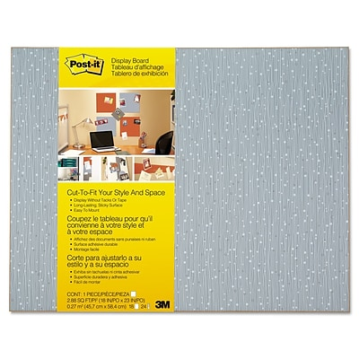 Post-it Cut-to-Fit Display Board, 18 x 23, Ice Display Board (558F-ICE)