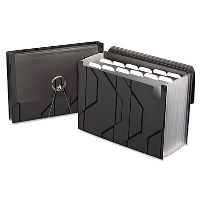 Esselte® Expanding File with Sliding Cover, 13-Pocket