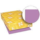 Exact Brights Paper, 8 1/2 x 11, Bright Purple, 50 Lb., 500 Sheets/ream