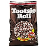 Tootsie Rolls Midgees Chewy, Chocolate, 80 Oz. (42278)