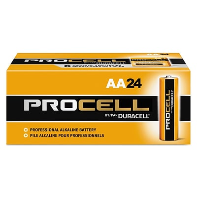Duracell® Procell Alkaline AA Batteries, 1.5V, 24-Pack
