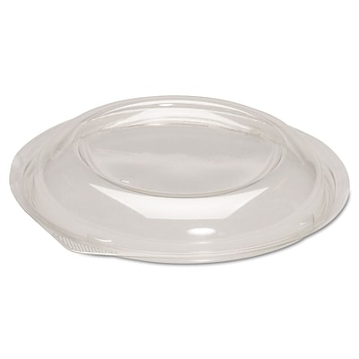 Genpak® Dome Lids for Silhouette® Plastic Dinnerware Bowls, Clear, 200/carton (BWS932)