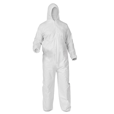KleenGuard* A35 Coveralls, X-Large, White (38939)