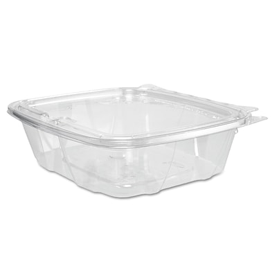 Dart® ClearPac® Clear Container Lid Combo-Packs, 24 oz, Clear, 200/carton (DCC CH24DEF)