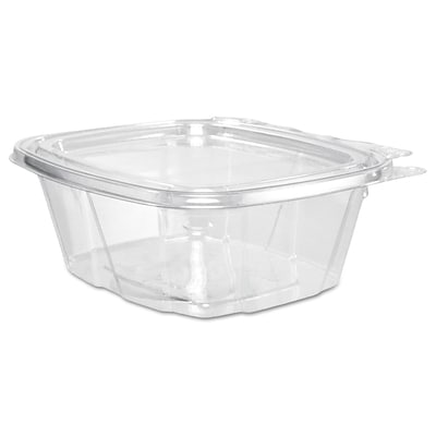 Dart® ClearPac® Clear Container Lid Combo-Packs, 16 oz, Clear, 200/carton (DCC CH16DEF)