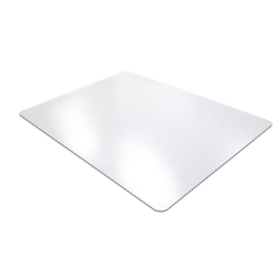 Floortex Cleartex Mat 118x60 Polycarbonate Chair Mat for Carpet, Rectangular (FR1115030023ER)