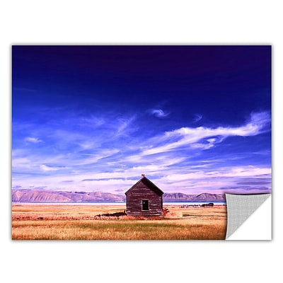 ArtWall Bear Lake Autumn Art Appeelz Removable Wall Art Graphic 24 x 32 (0uhl006a2432p)