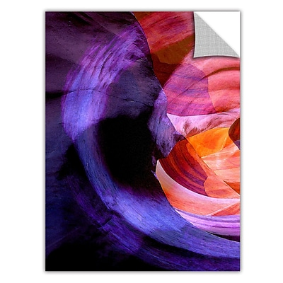 ArtWall Canyon Echoes Art Appeelz Removable Wall Art Graphic 18 x 24 (0uhl007a1824p)