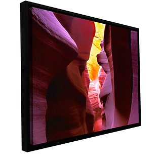 ArtWall Canyon Light Gallery-Wrapped Canvas 12 x 18 Floater-Framed (0uhl008a1218f)
