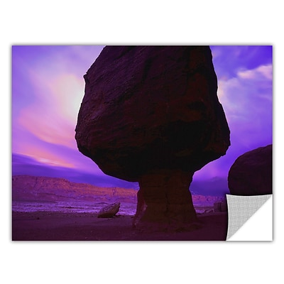 ArtWall Echo Cliffs Storm Light Art Appeelz Removable Wall Art Graphic 36 x 48 (0uhl009a3648p)