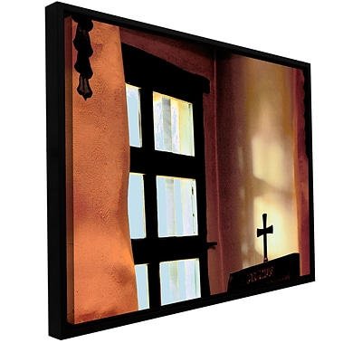 ArtWall Misson Light Gallery-Wrapped Canvas 18 x 24 Floater-Framed (0uhl011a1824f)
