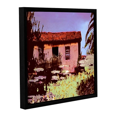 ArtWall Reflection The Past Gallery-Wrapped Canvas 24 x 24 Floater-Framed (0uhl014a2424f)