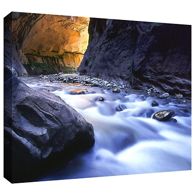 ArtWall Wirgin Narrows Gallery-Wrapped Canvas 36 x 48 (0uhl018a3648w)