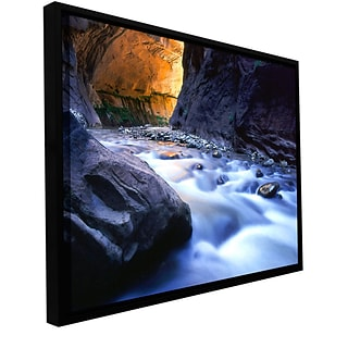 ArtWall Wirgin Narrows Gallery-Wrapped Canvas 36 x 48 Floater-Framed (0uhl018a3648f)