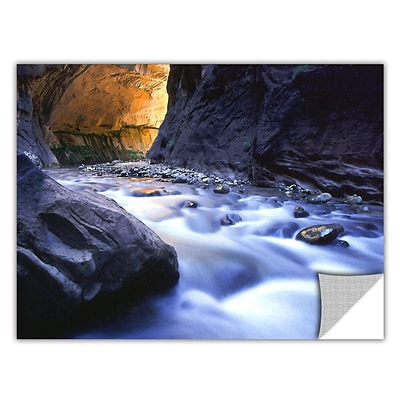 ArtWall Wirgin Narrows Art Appeelz Removable Wall Art Graphic 24 x 32 (0uhl018a2432p)