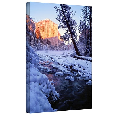 ArtWall Winter Paradise Gallery-Wrapped Canvas 36 x 48 (0uhl019a3648w)
