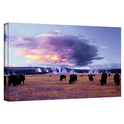 ArtWall Yellowstone Autumn Gallery-Wrapped Canvas 24 x 48 (0uhl020a2448w)