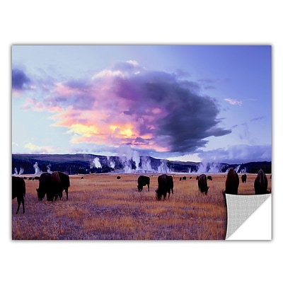 ArtWall Yellowstone Autumn Art Appeelz Removable Wall Art Graphic 24 x 48 (0uhl020a2448p)